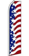Star Spangled Banner Usa 15Ft tall Super Swooper Flag advertise banner #572
