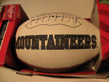 New Super Nice West Virginia Mountaineers Team Football. One-of-a-kind Monograms