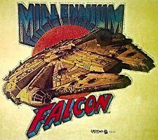 Vintage 1977 Star Wars Millenium Falcon Iron-On Transfer Super RARE!