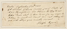 1776 Pay Order to Colonel Gillman New Hampshire State Treasurer