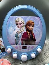 Lexibook Disney Frozen Elsa Anna Karaoke und CD Player, Sehr rar!
