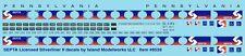 8528 SEPTA HO Silverliner II decals by Island Modelworks