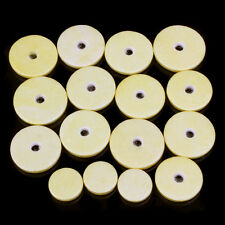 16pcs Yellow Replacement Deluxe Flute Pads Musical Wind Instrument parts