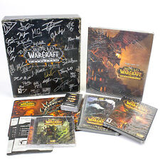 Signed World of Warcraft: Cataclysm Collectors Edition, 2010, Lil' Deathwing
