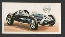 Original 1960s UK Trade Card featuring Cooper Climax Grand Prix Racing Car