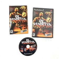 Def Jam Vendetta (Sony PlayStation 2, 2003) Black Label Complete PS2