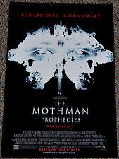 THE MOTHMAN PROPHECIES 2001 ORIGINAL 11x17 MOVIE POSTER! RICHARD GERE HORROR!