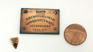 Dolls House Miniature Ouija Board & Planchette (DD045)Additional Items P&P FREE