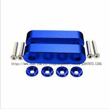 BLUE Billet Aluminum Hood Riser Spacer Kit for 88-00 HONDA Civic / 1990-2001 SET