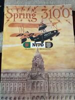 NYPD 3100 RARE 150TH YEAR MAGAZINE 1995 HISTORIC BOOK OUT OF PRINT