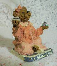 """The Boyds Bears Resin """"Jenny Sweet Tooth, It's Dairy to Me"""" Diet 2004"""