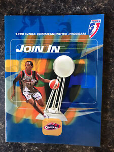 1998 WNBA COMMEMORATIVE PROGRAM AUG 6,1998