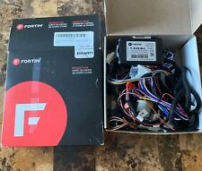 Fortin Evo-Nist1 Remote Starter For Nissan Infiniti Push-To-Start Brand New