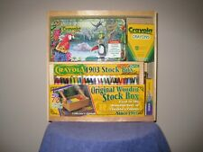 CRAYOLA CRAYON : Collectors Edition 1903 STOCK BOX and WOOD CRATE Pre-owned