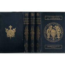 Les MERVEILLES de la CÉRAMIQUE Faïence par JACQUEMART EX-Libris 1874-1877 & 1879
