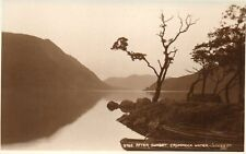 After Sunset - Crummock Water - Lake District - Cumbria Vintage Postcard (204)