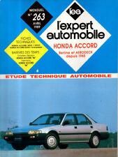 RTA revue technique automobile  n° 263 HONDA ACCORD 1800 2000 16S