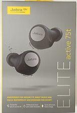 Jabra - Elite Active 75t True Wireless Headphones Titanium Black 100-99091005-14