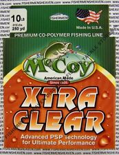 McCoy Fishing Line CoPolymer Xtra Clear 250 Yard Spool 10LB Test