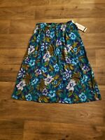 New Alfred Dunner Floral Print Skirt Size 12