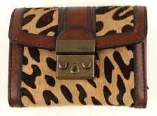 Fossil Purse Vintage Re Issue II Flap Multifunction Cheetah