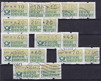 BRD ATM 1981 Mi.Nr. 1,  Lot , gestempelt,
