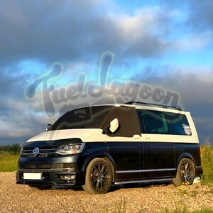 VW T6 Screen Cover DELUXE Wrap Window Curtain Black Out Blind Campervan