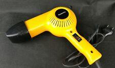 sèche cheveux vintage ROWENTA  orange années 70 fonctionne ancien électrique