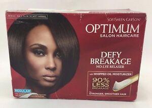 SoftSheen Optimum Salon Haircare Defy Breakage No-Lye Relaxer (Regular)