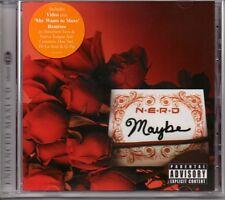 N.E.R.D - MAYBE - VIDEO ENHANCED CD SINGLE - MINT