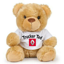 Teddy trucker ted Renault brown teddy bear soft toy CE approved 17cm