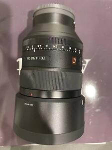 Sony FE 85mm f/1.4 GM Full-Frame Mid-Range E-Mount Camera Lens - Black