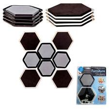 Lot Of 8 Furniture Sliders Magic Mover Pad Protectors Floor Wood Furniture On Tv