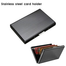 RFID Blocking Wallet Slim Secure Contactless Card Protector for 6 Credit Cards