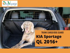Trunk cargo dog guard barrier KIA Sportage QL 2016+ w/panoramic roof