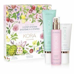 NEW KORA Organics by Miranda Kerr 3 STEP SYSTEM DRY SKIN Anti-aging Free Post