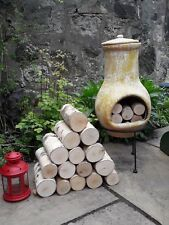Decorative Round Logs Fine Sawn Hardwood Display Logs Kiln Dried Birch 20cm Long