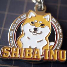 Shiba Inu Doge Peripheral Products Cartoon Metal Pendant Key Ring Cut Dog Shiba