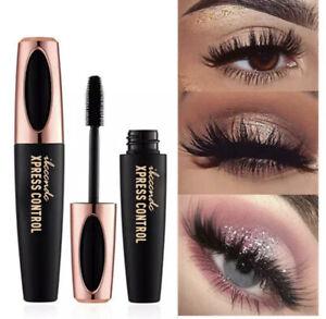 New 4D silk Fiber Lash Mascara Waterproof Black Thick Lengthening Eyelash Makeup