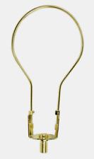 Jandorf LAMP SHADE ADAPTER Type 'A' Bulb Clip Brass Finish Flared Shape 60120