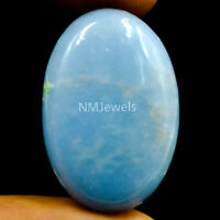 Cts. 25.80 Natural Blue Angelite Cabochon Oval Cab Loose Exclusive Gemstone