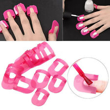 26Pc Pochoir Vernis à Ongles Polish Ongles Protection Guide Manucure Nail Art