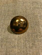 """New listing Korean war Us Army collar insignia Enlisted """"Ohio"""" domed Pin back Collar device"""