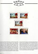 1992 Falklands, Guernsey, Isle of Man  40th accession to throne  3 sets mint