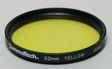 52mm Screw-In Filter SUMMATECH YELLOW B&W CONTRAST Made in Japan