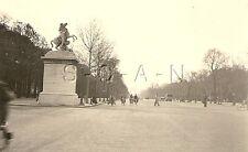 WWII Ger Luftwaffe RP- France- Occupied Paris- Champs-Elysées- Statue- Apr 1941