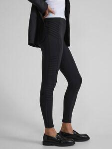 ATHLETA Delancey Moto Tight Legging  XSP X-Small Petite XS P | Black #598323 NEW