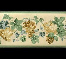 Lavable, Vigne Papier Peint Bordure (26 cm x 4.57 m long)