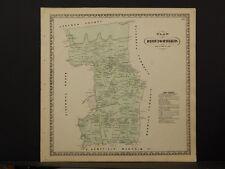 1770 PA MAP Kutztown Mount Penn Womelsdorf Hamburg Wilshire Trainer History HUGE