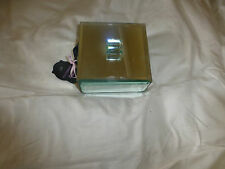 """MARKS AND SPENCER 4.5 """" SQUARE MIRRORED JEWELLERY BOX WITH HINGED LID"""